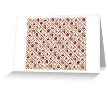 Sinterklaas inpakpapier (Dutch wrapping paper) Greeting Card