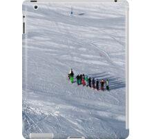 Winter on Kitzsteinhorn 41 iPad Case/Skin