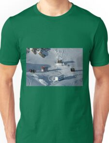 Winter on Kitzsteinhorn 42 Unisex T-Shirt