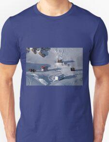 Winter on Kitzsteinhorn 42 Unisex T-Shirt