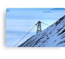 Winter on Kitzsteinhorn 43 Canvas Print