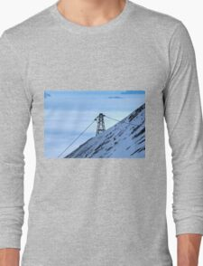 Winter on Kitzsteinhorn 43 Long Sleeve T-Shirt