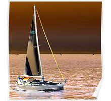 Sailing Inverted Poster