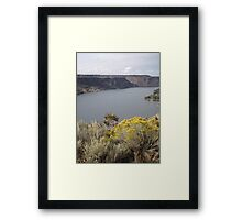 Lake Billy Chinook Framed Print