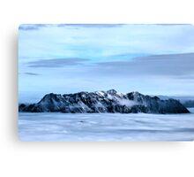 Winter on Kitzsteinhorn 44 Canvas Print