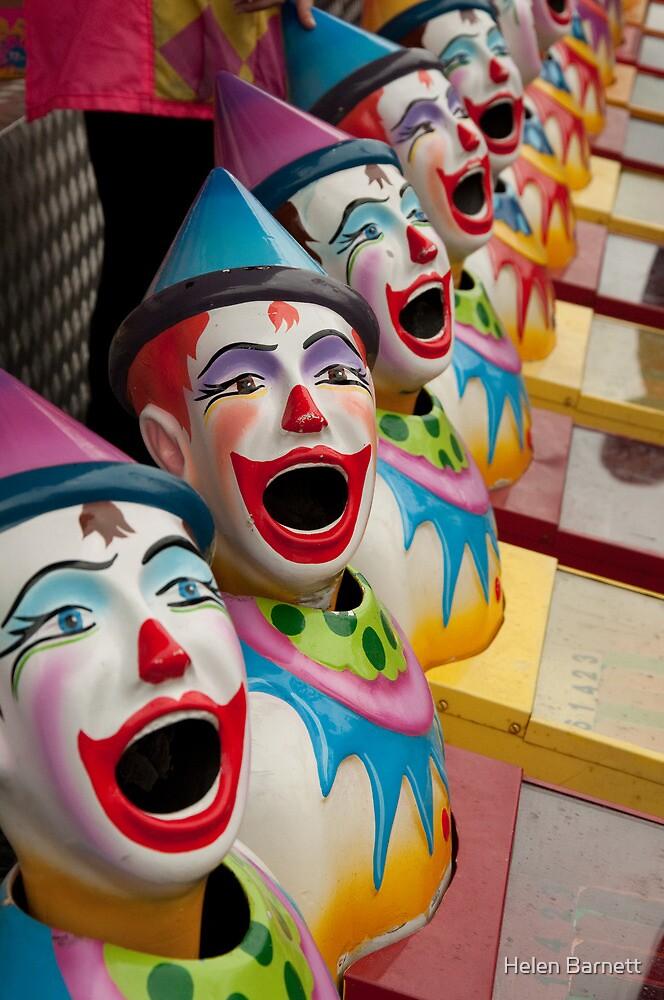 Clowns! Clowns! Clowns! by Helen Barnett