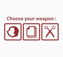 Choose Your Weapon by AmazingVision