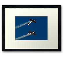 Air Show - Two Plains Framed Print
