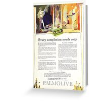 Advertisements Photoplay Magazine February through June 1921 0097 Palmolive Greeting Card