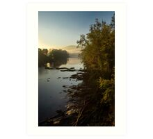 Clinch River Sunrise Art Print