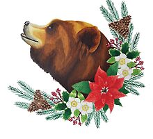 Christmas Bear by Kelly Attenborough