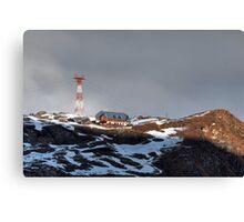 Winter on Kitzsteinhorn 46 Canvas Print