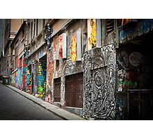 Melbourne Street Art Photographic Print