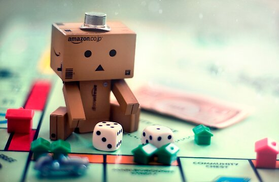 Danbo Learns Monopoly by Lady-Tori