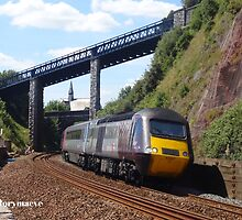 Cross Country 43357 at Teignmouth by Rorymacve