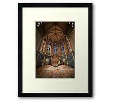St Patrick's Cathedral - Interior Framed Print