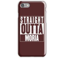 STRAIGHT OUTTA MORIA iPhone Case/Skin