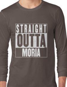 STRAIGHT OUTTA MORIA Long Sleeve T-Shirt