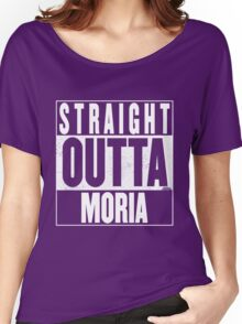 STRAIGHT OUTTA MORIA Women's Relaxed Fit T-Shirt