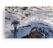 Winter on Kitzsteinhorn 49 Canvas Print
