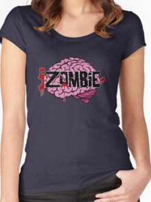 iZombie Brains Women's Fitted Scoop T-Shirt