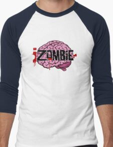 iZombie Brains Men's Baseball ¾ T-Shirt