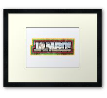 Jambo and Welcome!  Framed Print