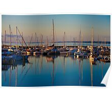 Hervey Bay Harbour Poster