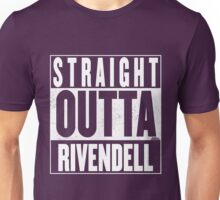 STRAIGHT OUTTA RIVENDELL Unisex T-Shirt