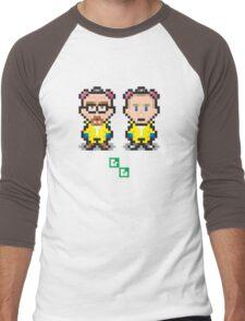 Breaking Bit Men's Baseball ¾ T-Shirt