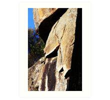 Cataract Gorge Rocks 1N Art Print
