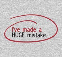 Huge Mistake One Piece - Long Sleeve