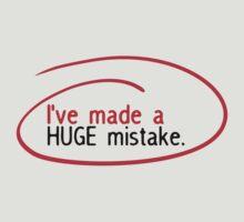 Huge Mistake by kdm1298