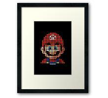 Mario - Pictodotz Framed Print