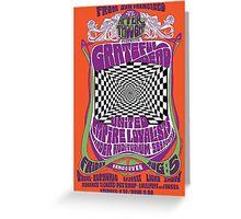 Grateful Dead Poster Greeting Card
