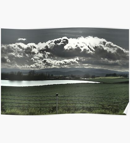 cloudy weather Poster