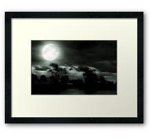 Nature's Night Light © Framed Print