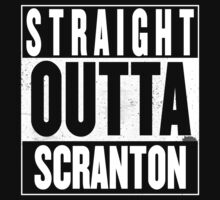 STRAIGHT OUTTA SCRANTON One Piece - Short Sleeve