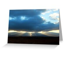 Lightshow  Assynt  and Coigach Greeting Card