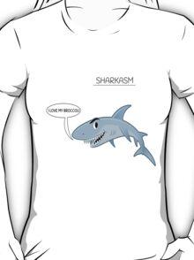 Sharkasm I Love My Broccli T-Shirt