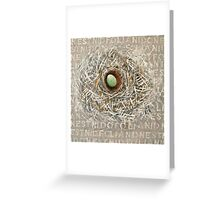 nest .... Greeting Card