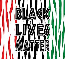 Black Lives Matter Tiger Print by EthosWear