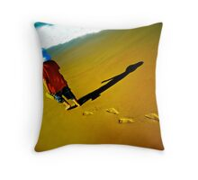 Solo Steps - Finalist image in the Australia Day Council of NSW 'Living Australian' Photography Competition Throw Pillow