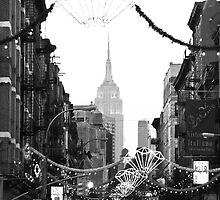 China Town Festivities, Empire State, NYC by Sandy Taylor