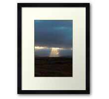 lightshow take 2 Framed Print