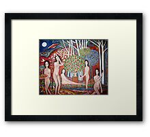 """ The Sacred valley""  ~ reworked Framed Print"