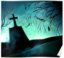 Peace lies in the cemetery implies rest after death  Poster