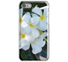 Frangipani or Yellow and White Plumeria flowers, Barbados, WI If you like, please purchase, try a cell phone cover thanks iPhone Case/Skin
