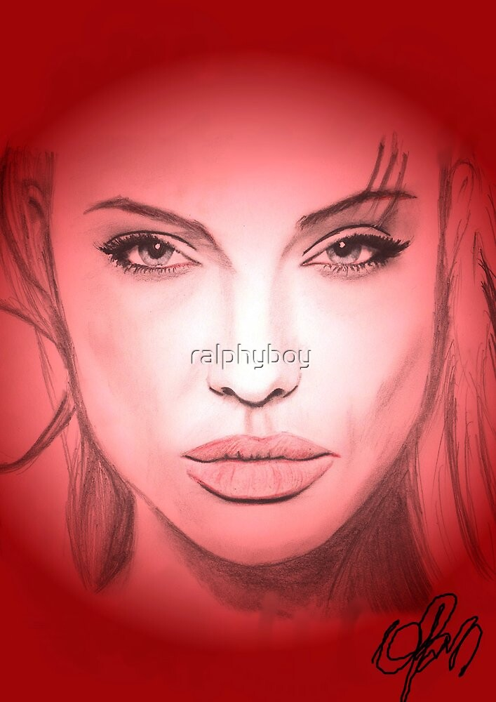 angelina by ralphyboy