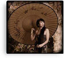 Oriental charmer Canvas Print